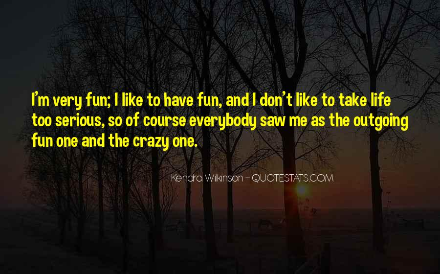 I Don't Like Me Quotes #178