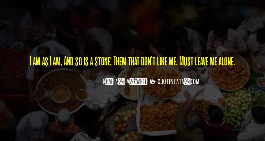 I Don't Like Me Quotes #35680