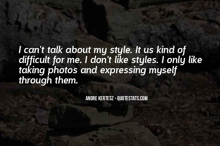I Don't Like Myself Quotes #13301