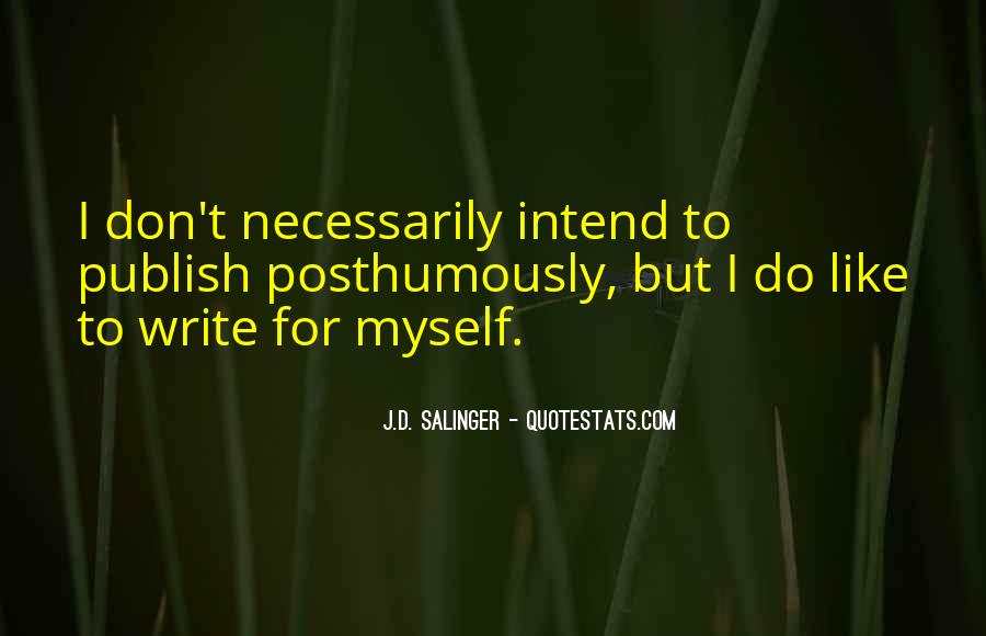 I Don't Like Myself Quotes #58586