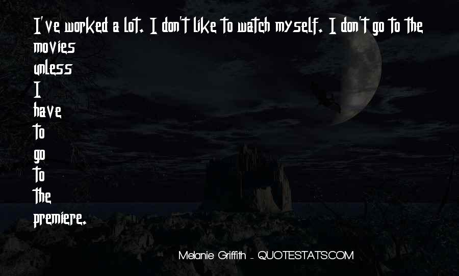 I Don't Like Myself Quotes #69273