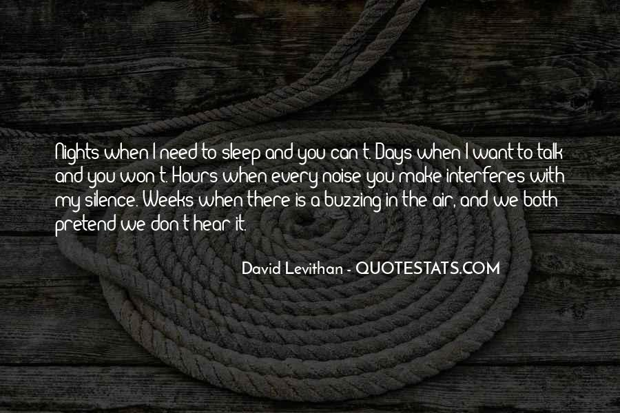 I Don't Need It Quotes #112544