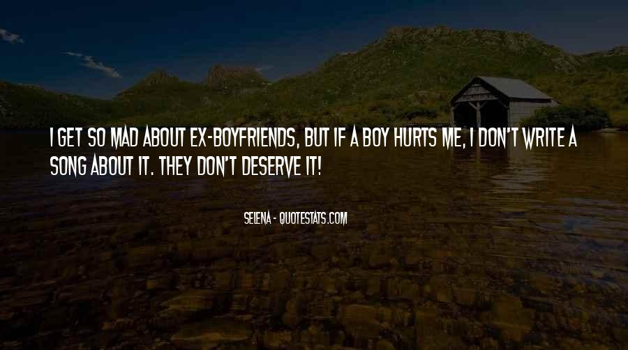 I Don't Want A Boyfriend Quotes #463707