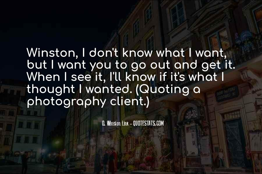 I Don't Want To See You Quotes #769262