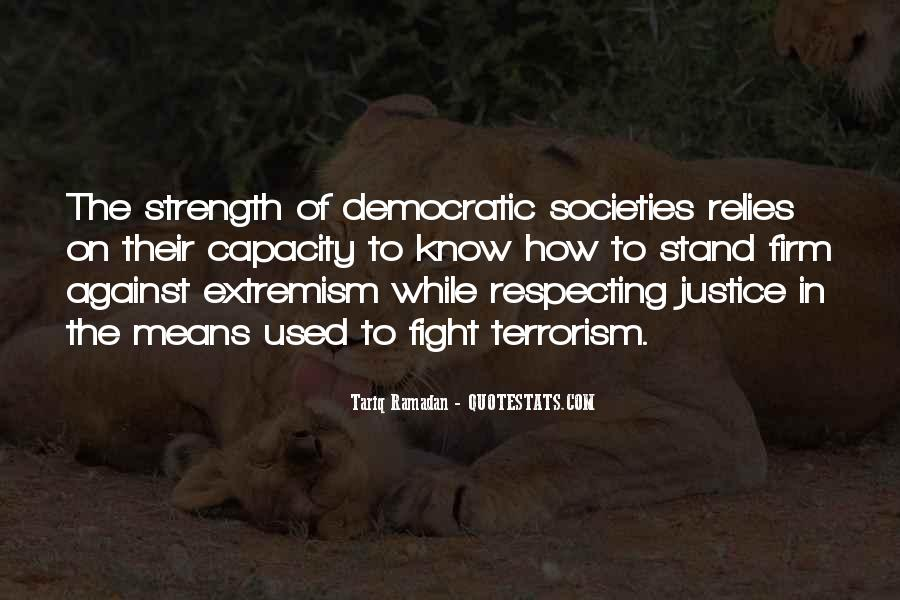 Quotes About Fight Against Terrorism #1103581