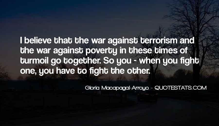 Quotes About Fight Against Terrorism #1131089