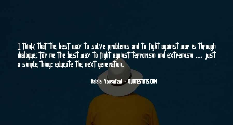 Quotes About Fight Against Terrorism #1582977