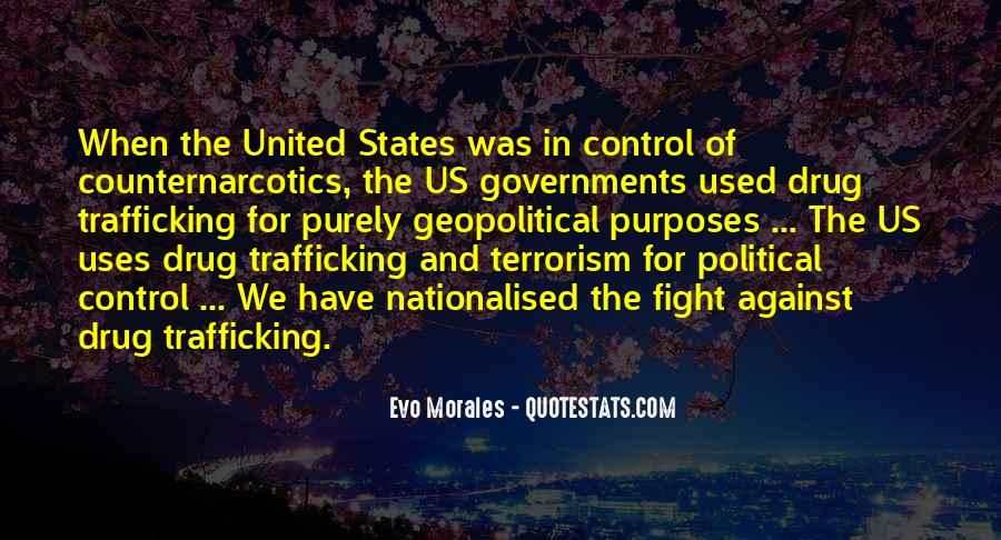 Quotes About Fight Against Terrorism #256654