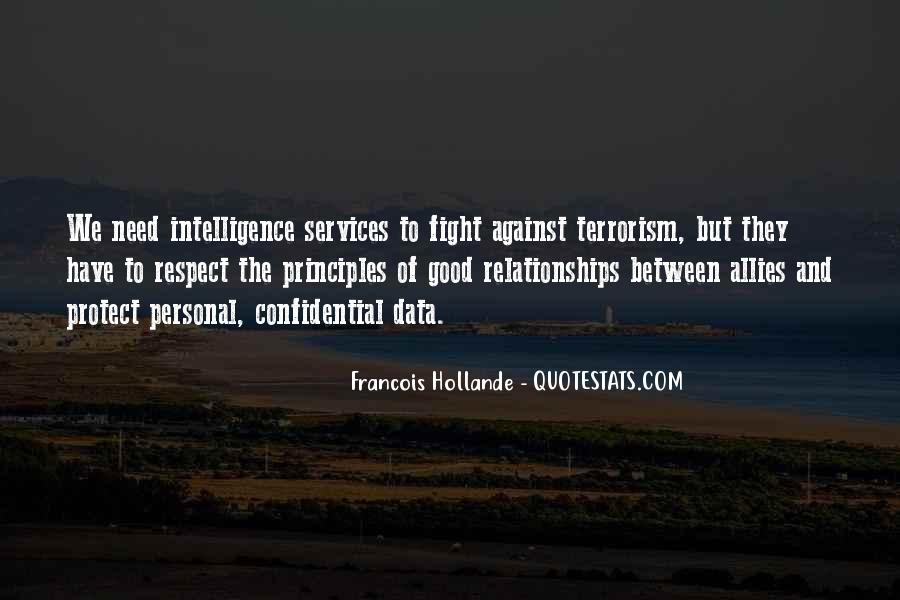 Quotes About Fight Against Terrorism #467801
