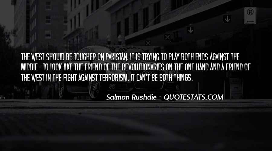 Quotes About Fight Against Terrorism #896403