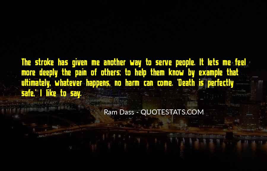 I Feel No Pain Quotes #1257726