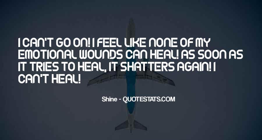 I Feel Sad Quotes #121416