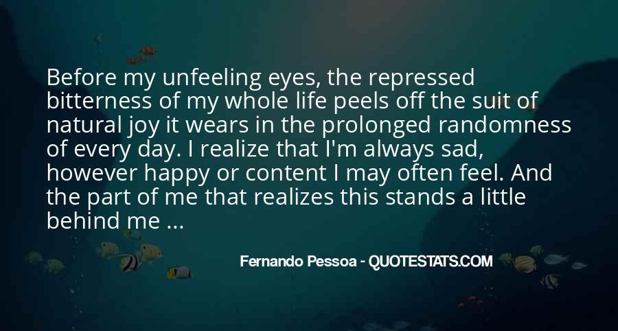 I Feel Sad Quotes #182700