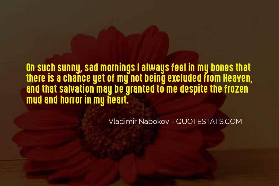 I Feel Sad Quotes #637709