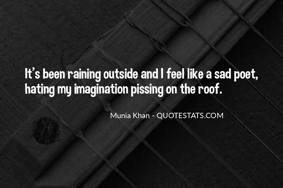 I Feel Sad Quotes #682280