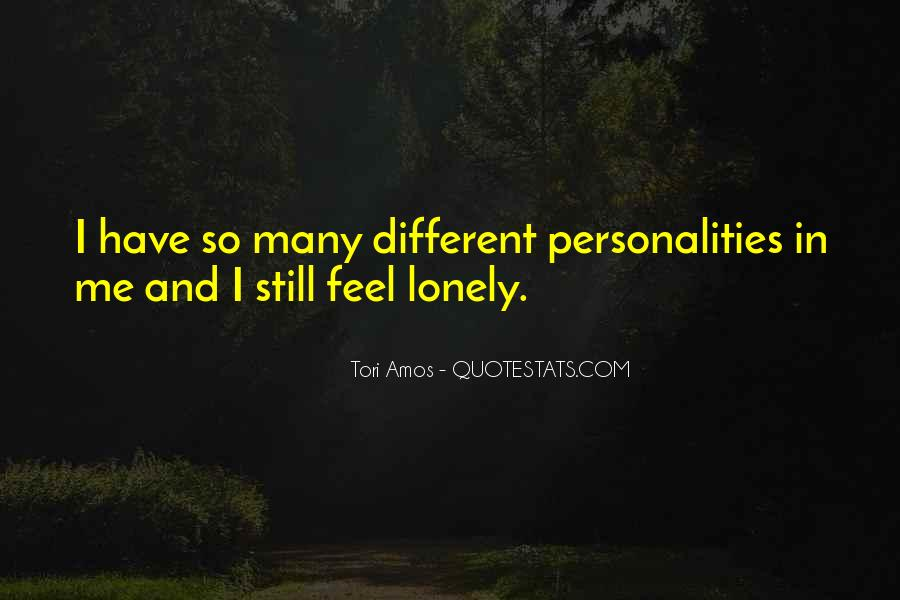 I Feel So Lonely Without You Quotes #106725