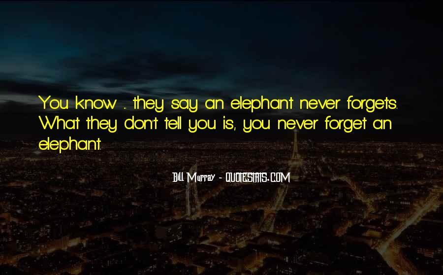 I Forget My Past Quotes #2897