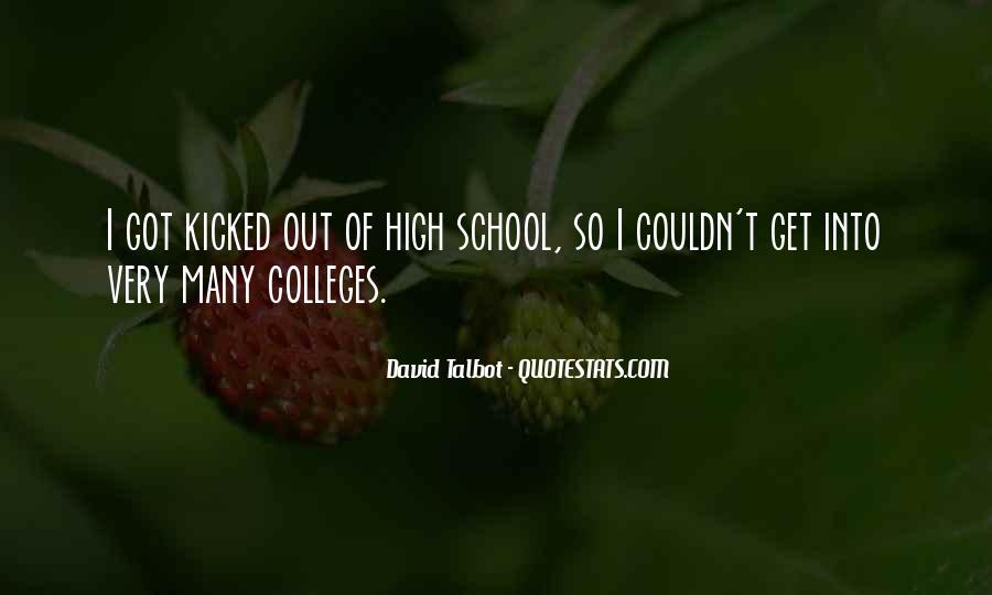 I Get So High Quotes #346116