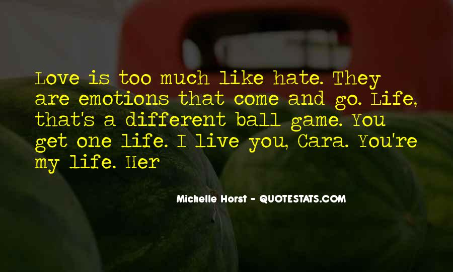 I Hate Myself And My Life Quotes #61030