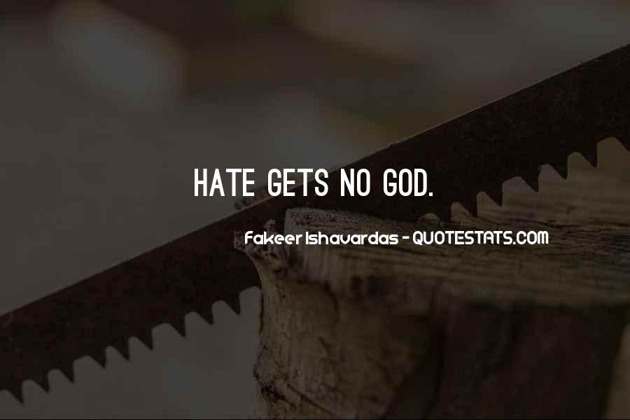 I Hate U Quotes #2400