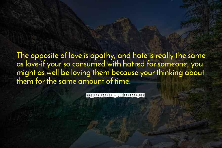 I Hate U Quotes #2623