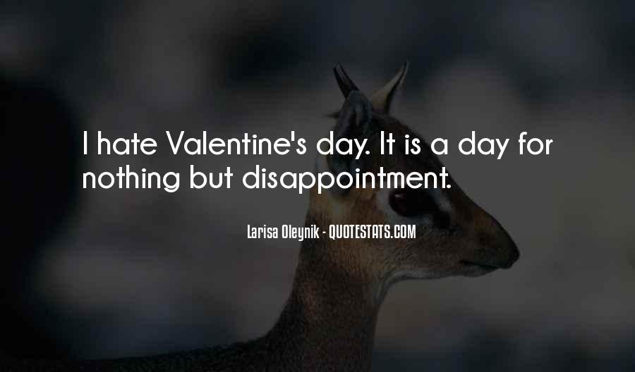 I Hate U Quotes #3526