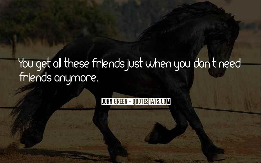 I Have No Friends Anymore Quotes #1072400