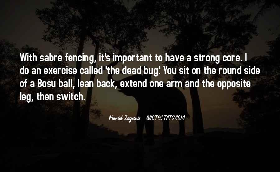 Quotes About Fencing #1138207
