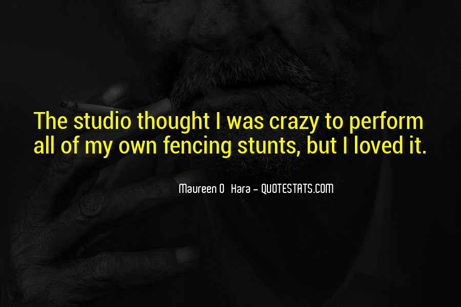 Quotes About Fencing #1493702