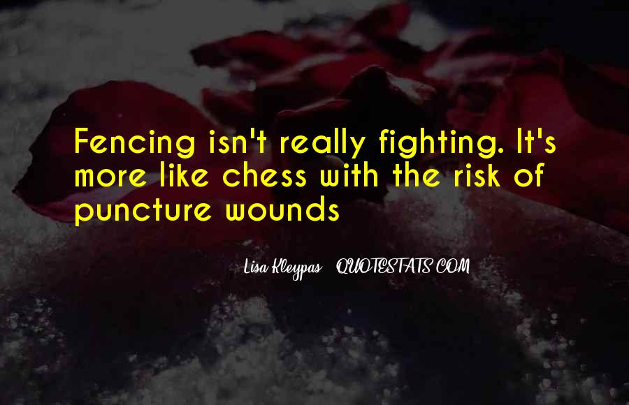 Quotes About Fencing #601958
