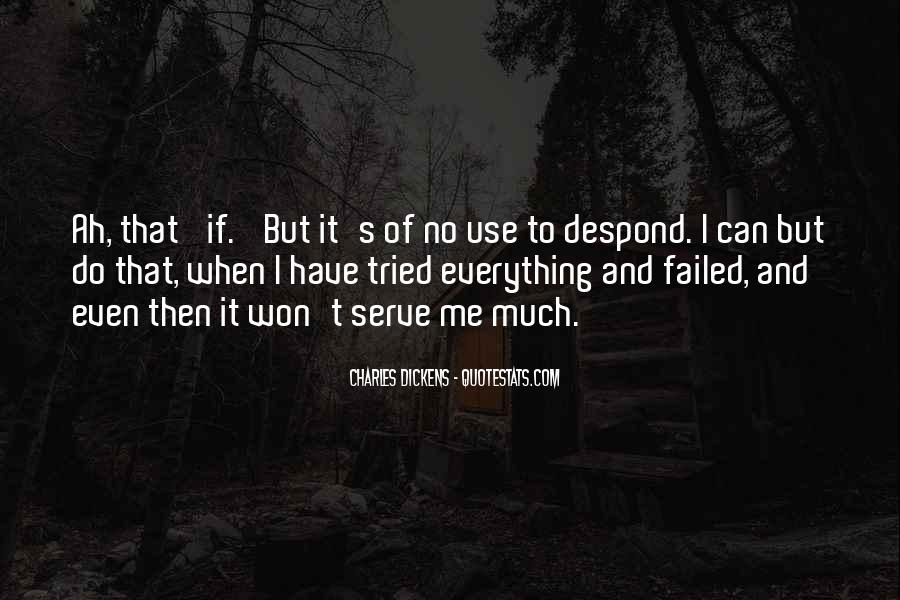 I Have Tried Everything Quotes #218621