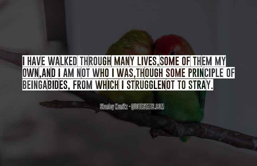 I Have Walked Quotes #665331
