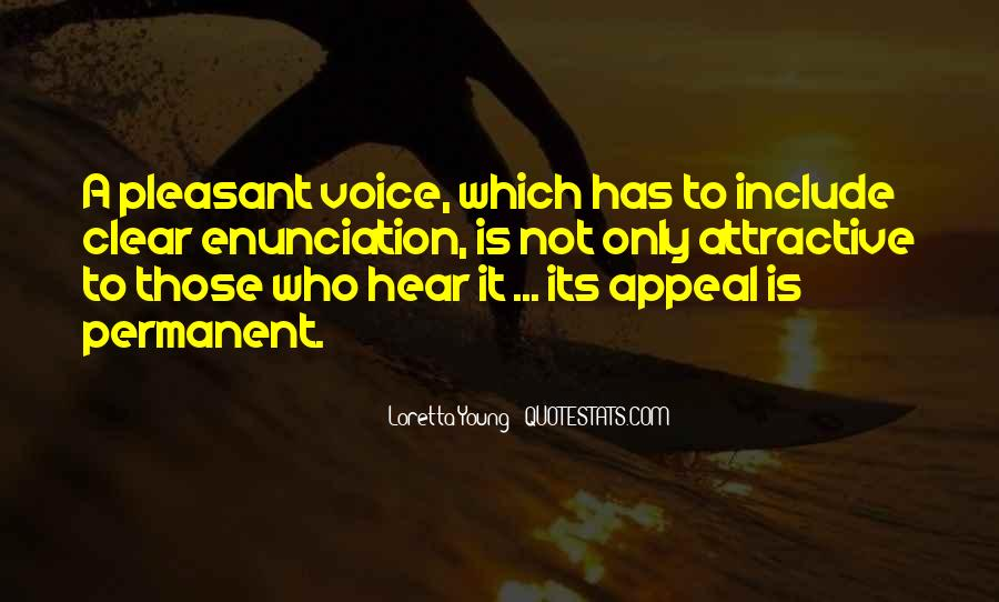 I Hear Your Voice Best Quotes #1341