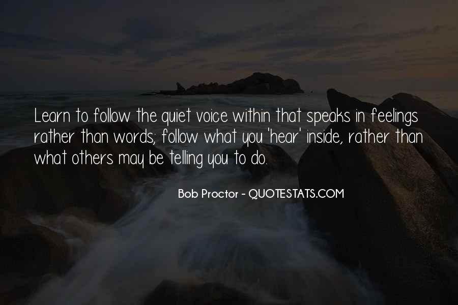 I Hear Your Voice Best Quotes #19420