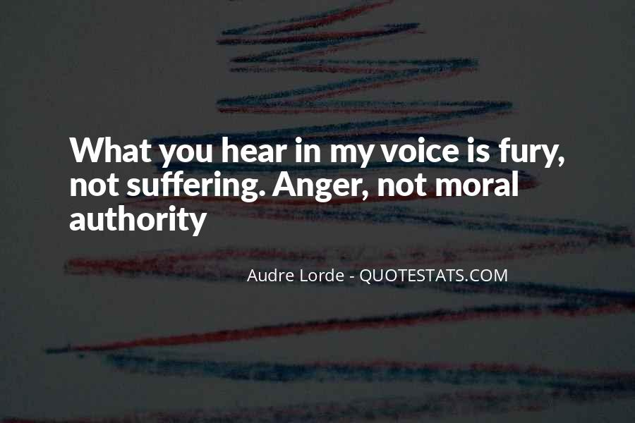 I Hear Your Voice Best Quotes #24134