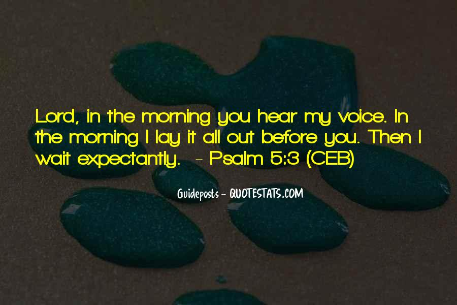 I Hear Your Voice Best Quotes #34473