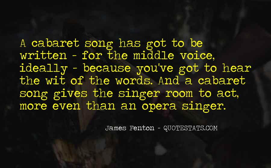 I Hear Your Voice Best Quotes #48535