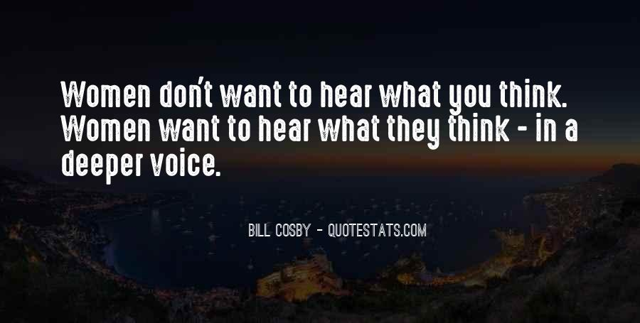 I Hear Your Voice Best Quotes #56746