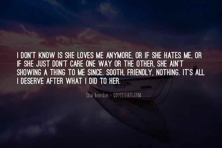 I Just Don't Care Anymore Quotes #1160390