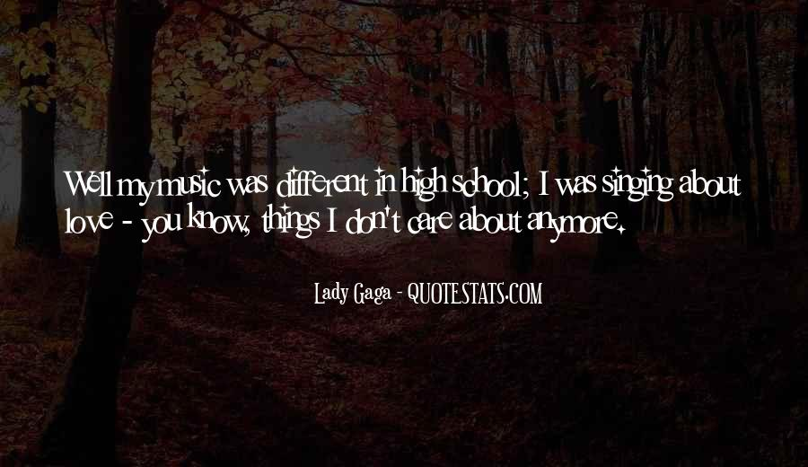 I Just Don't Care Anymore Quotes #1331196