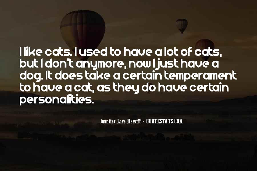 I Just Love Cats Quotes #169776