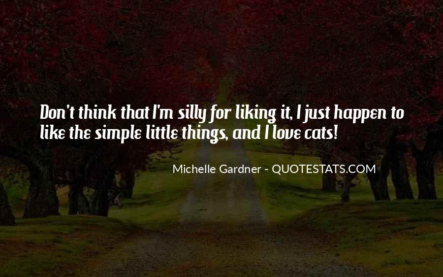 I Just Love Cats Quotes #22412