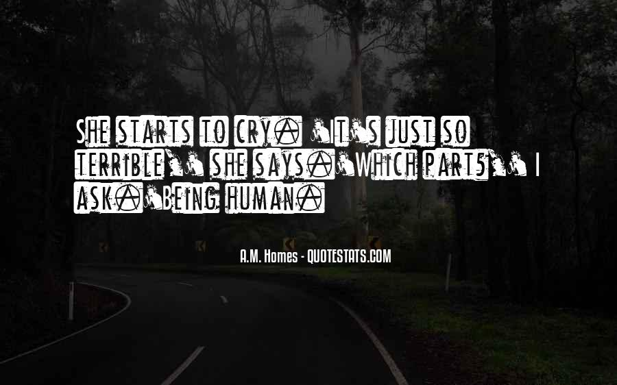 I Just Want To Cry Quotes #15262