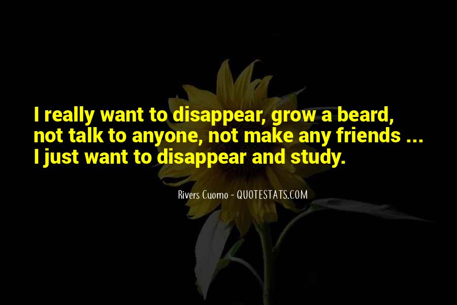 I Just Want To Disappear Quotes #1213398
