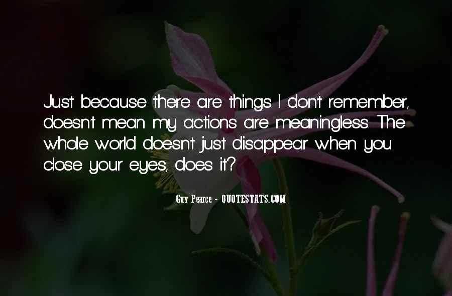 I Just Want To Disappear Quotes #26067