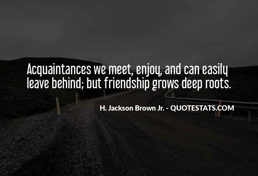 I Just Want To Meet You Quotes #4404