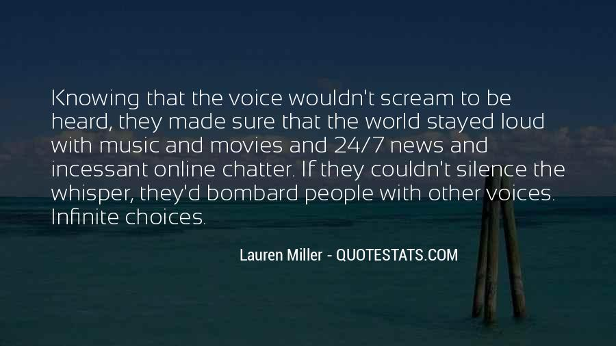 I Just Want To Scream Out Loud Quotes #1032486