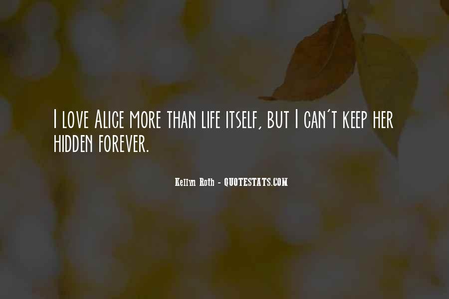 I Just Want You Forever Quotes #10844