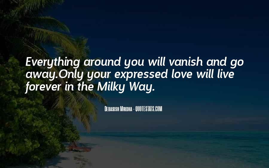 I Just Want You Forever Quotes #9584
