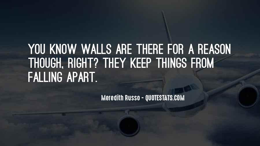 I Keep Falling Quotes #1843619